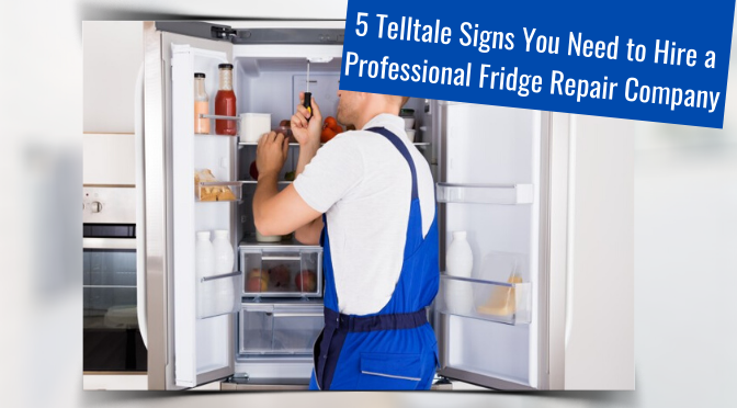 5 Telltale Signs You Need to Hire a Professional Fridge Repair Company