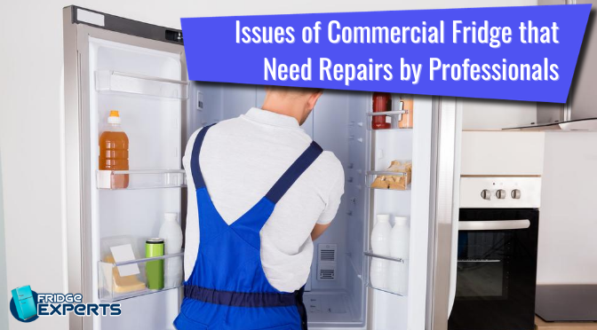 Some Common Issues of Commercial Fridge that Need Repairs by Professionals