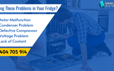 Facing These Problems in Your Fridge? Time to Contact Fridge Repair Experts near You