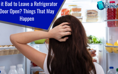 Is it Bad to Leave a Refrigerator Door Open? Things That May Happen