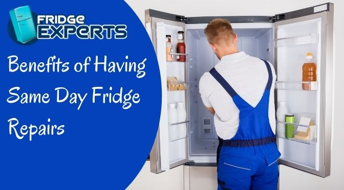 What Are the Benefits of Having Same Day Fridge Repairs?