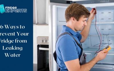 6 Ways to Prevent Your Fridge from Leaking Water